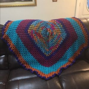 Crochet quilt/throw kaleidoscope